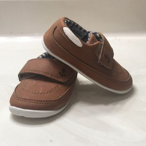 Carters loafers boat shoe infant 5